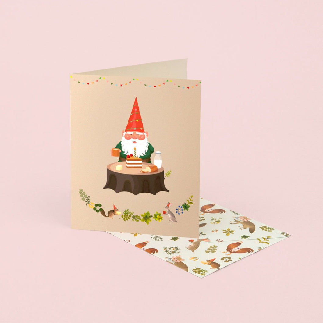 Gnome's Birthday Card | Paper & Cards Studio