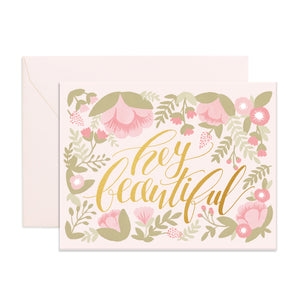 Hey Beautiful | Paper & Cards Studio