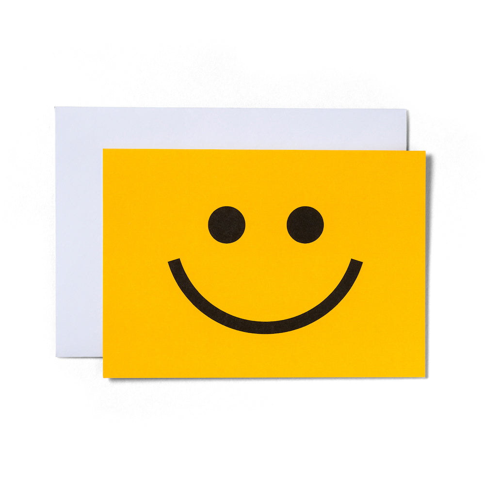 Smiley Face Card | Paper & Cards Studio