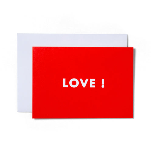 Love Greeting Card | Paper & Cards Studio