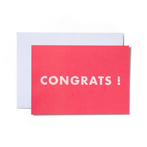 Congrats Greeting Card | Paper & Cards Studio