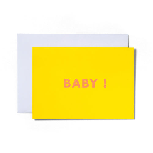 Baby Greeting Card | Paper & Cards Studio
