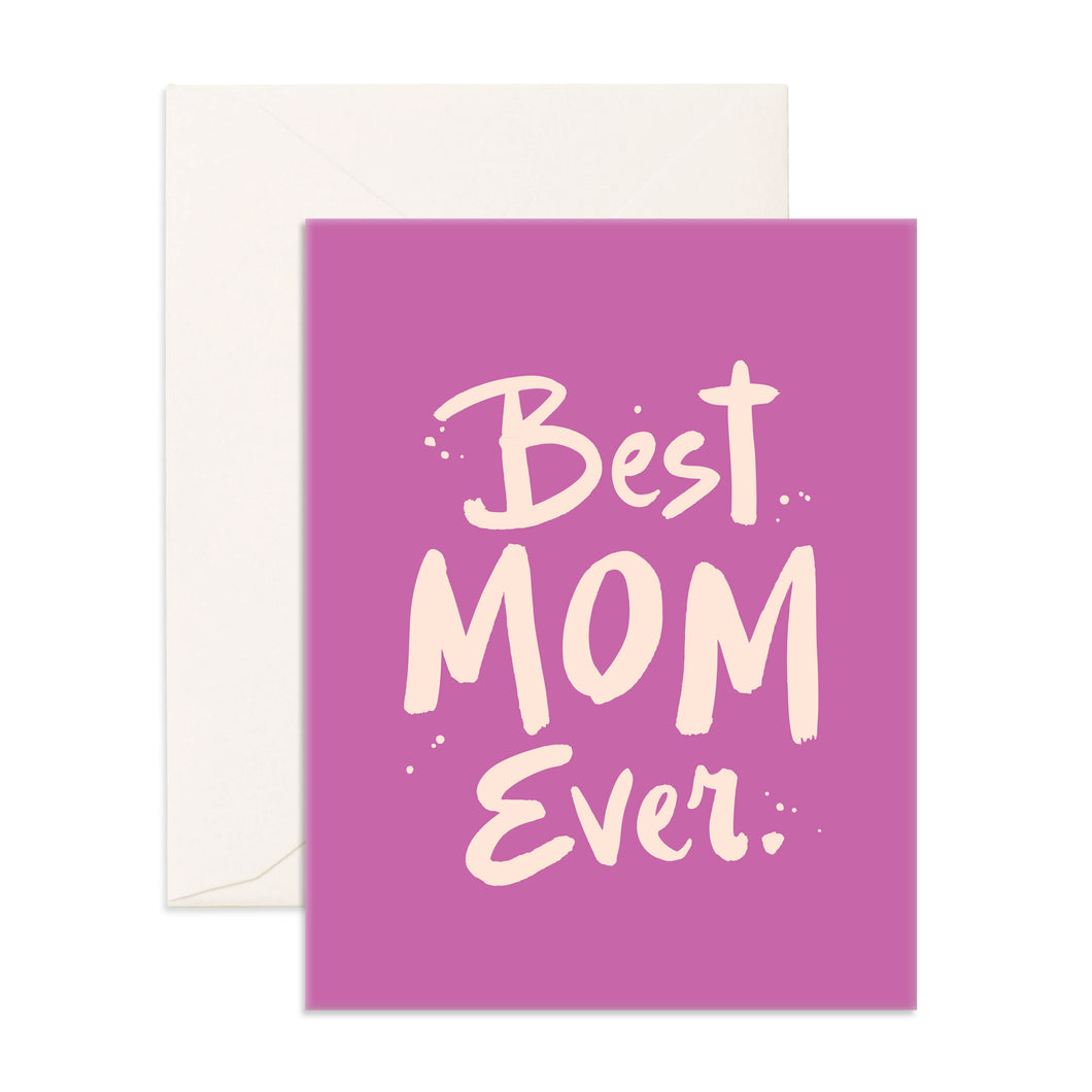 Best Mom Ever | Paper & Cards Studio