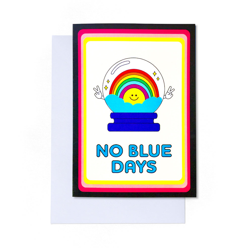 No Blue Days Card | Paper & Cards Studio