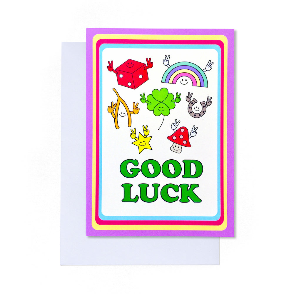 Good Luck Card | Paper & Cards Studio