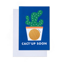 Load image into Gallery viewer, Cact'up Soon Card | Paper & Cards Studio