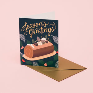 Holiday Desserts Card - Navy | Paper & Cards Studio