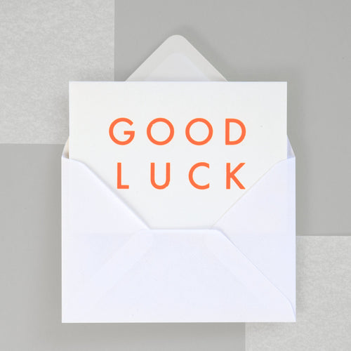 Good Luck | Paper & Cards Studio