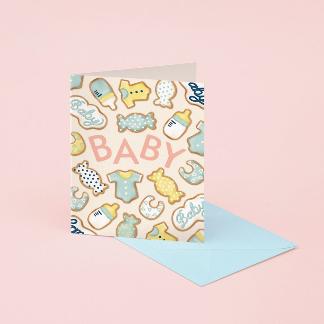 Baby Cookies Card | Paper & Cards Studio