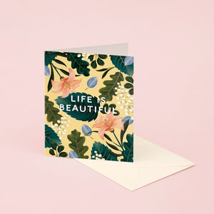 Life is Beautiful Card | Paper & Cards Studio