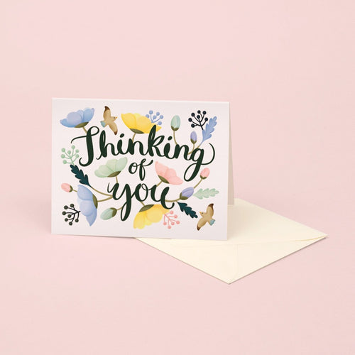 Poppy Thinking of You Card - Paper & Cards Studio Hong Kong