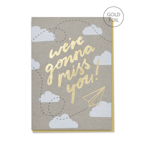Gonna Miss You | Paper & Cards Studio