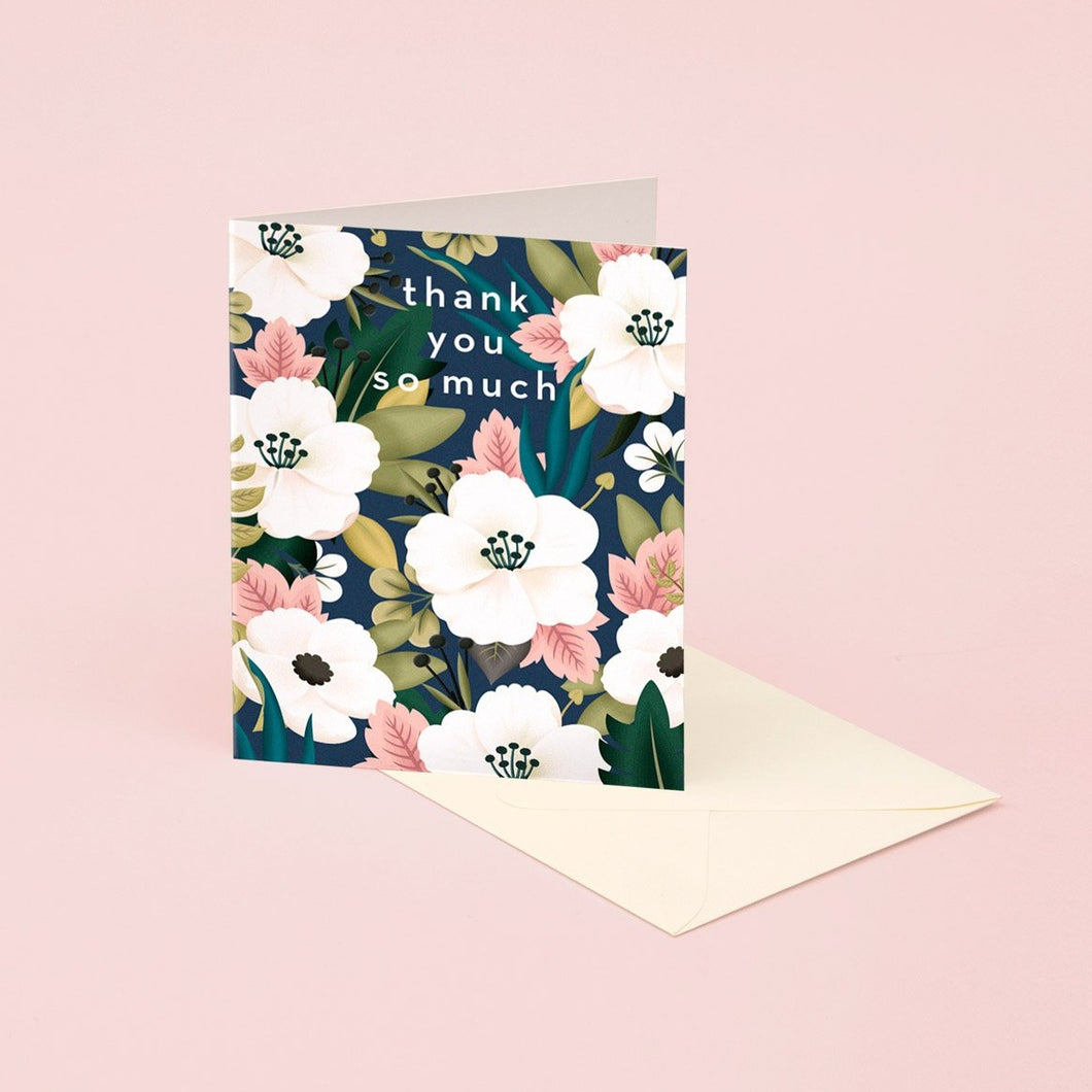 Wildflower Thank You Card | Paper & Cards Studio
