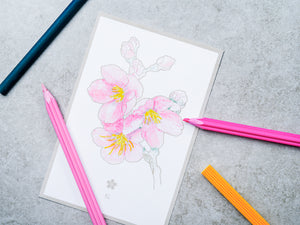 Flower Greeting Card | Paper & Cards Studio