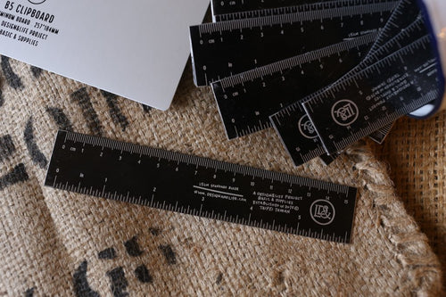 D&L Black Ruler | Paper & Cards Studio