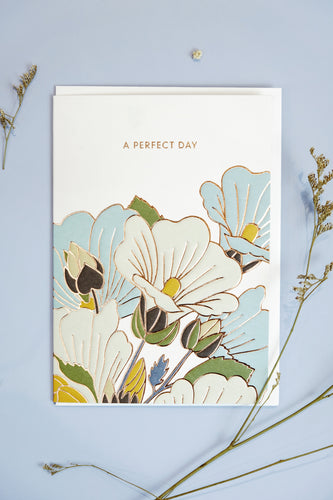 A Perfect Day Card | Paper & Cards Studio