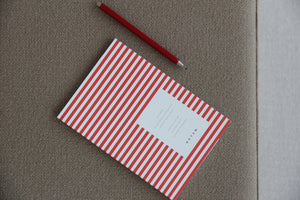 VITA Softcover Notebook - Small, Bright Red, Lined | Paper & Cards Studio