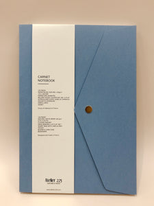 Denim Blue Notebook Pliage | Paper & Cards Studio