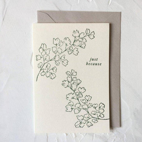 Just Because | Paper & Cards Studio