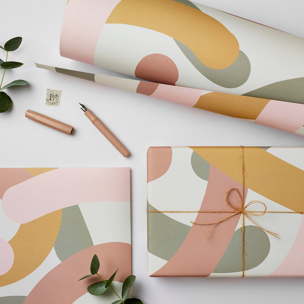 Mallow Gift Wrap Sheet | Paper & Cards Studio