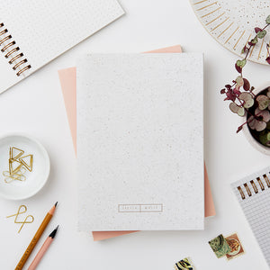 Wiro Marl Notebook, Blank and Dot Grid | Paper & Cards Studio