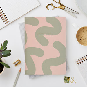 Wiro Green Mallow Notebook, Blank and Dot Grid | Paper & Cards Studio