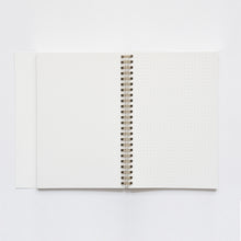 Load image into Gallery viewer, Wiro Green Mallow Notebook, Blank and Dot Grid | Paper & Cards Studio