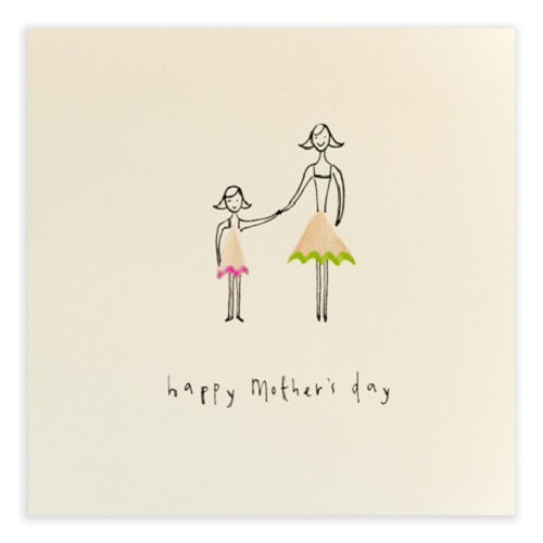 Mother's Day Daughter - Pencil Shavings Card | Paper & Cards Studio