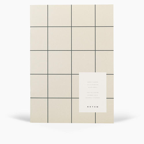MILO Weekly Planner Book, Light Gray | Paper & Cards Studio