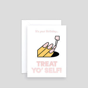 Treat Yo' Self | Paper & Cards Studio