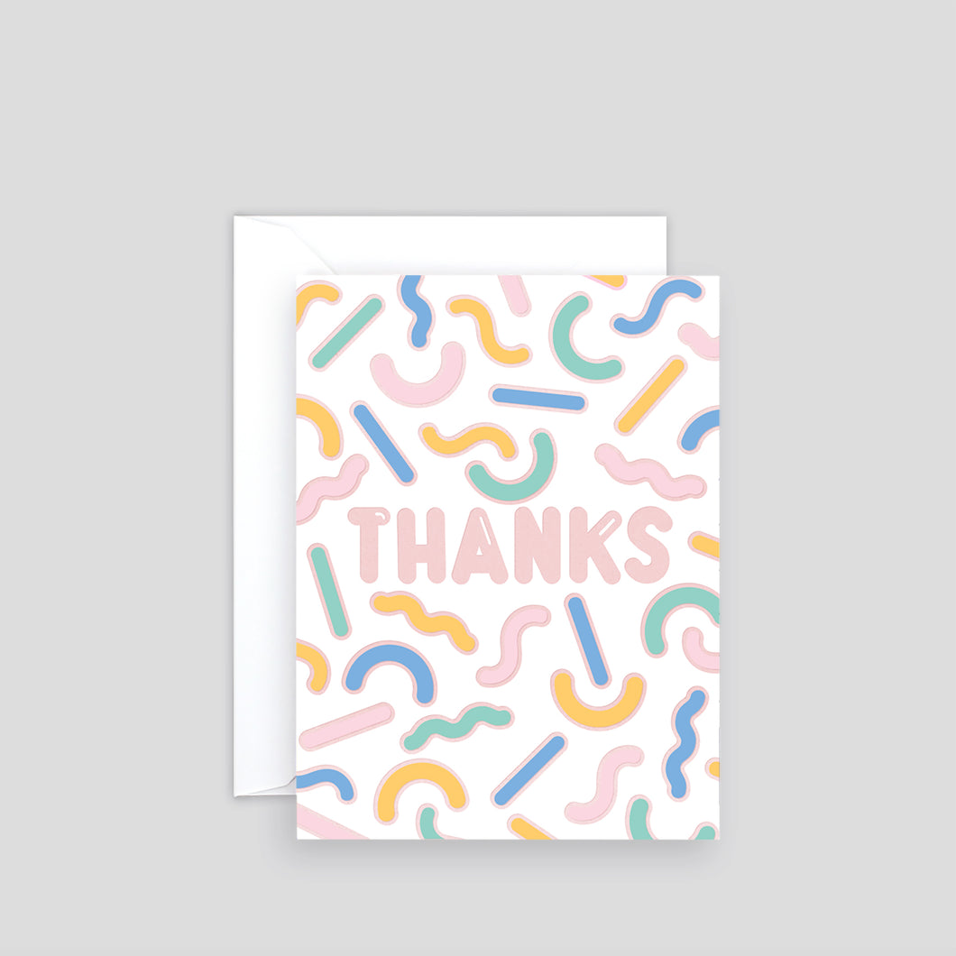 Thanks Shapes | Paper & Cards Studio