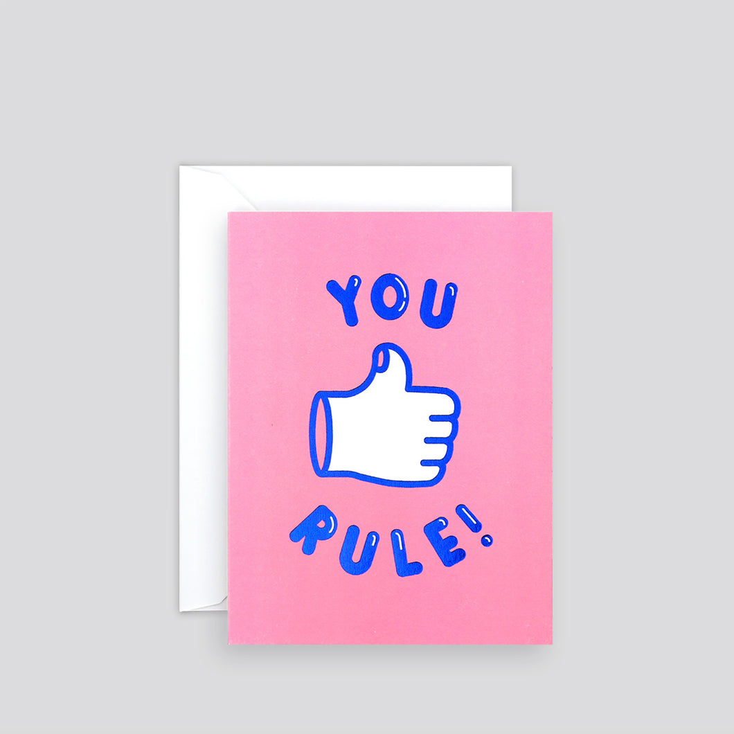 You Rule | Paper & Cards Studio
