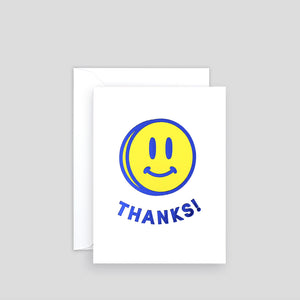 Smiley Thanks | Paper & Cards Studio