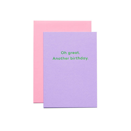 Oh great. Another birthday. | Paper & Cards Studio