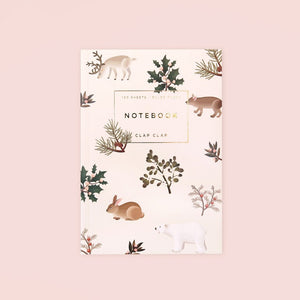 Wild Animals Notebook - Cream, Lined | Paper & Cards Studio