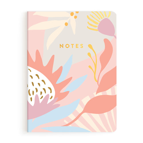 Kangaroo Paw Notebook, Lined | Paper & Cards Studio