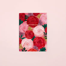 Load image into Gallery viewer, Peony Pocket Notebook, Blank | Paper & Cards Studio
