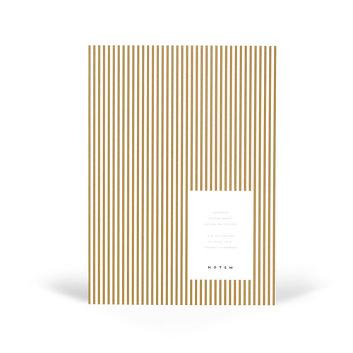 VITA Softcover Notebook - Medium, Ochre Lines, Dot Grid