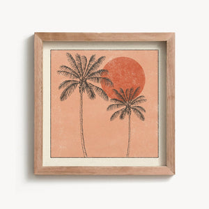 Golden Palms Print | Paper & Cards Studio
