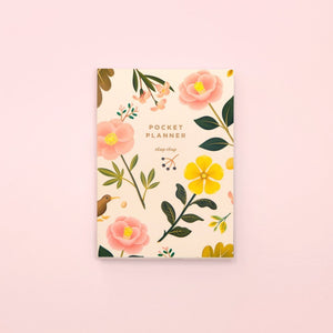 Botanical Pocket Planner - Cream | Paper & Cards Studio