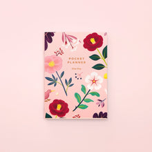 Load image into Gallery viewer, Botanical Pocket Planner - Blush | Paper & Cards Studio