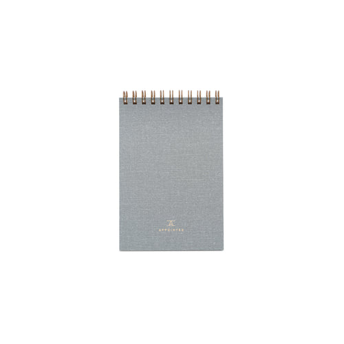 Appointed Pocket Notepad in Dove Gray, Lined | Paper & Cards Studio