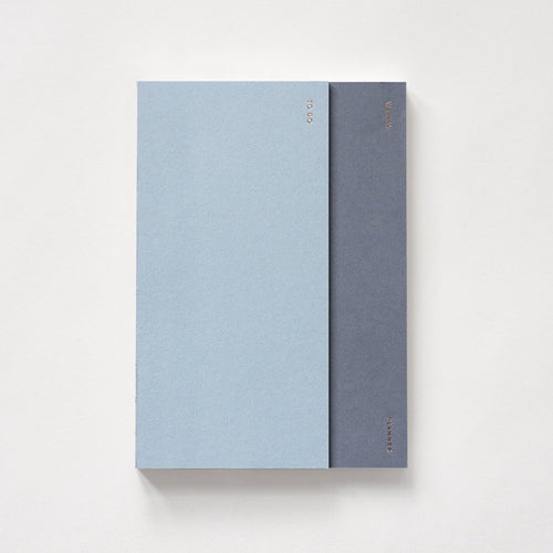 2 in 1 Planner in Steel Blue