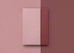 2 in 1 Planner in Dusty Pink