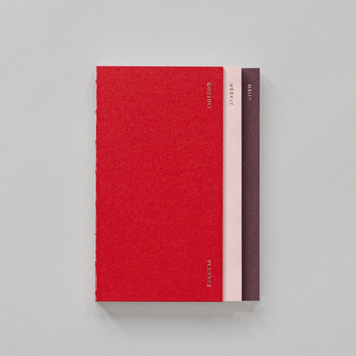 3 in 1 Planner in Red