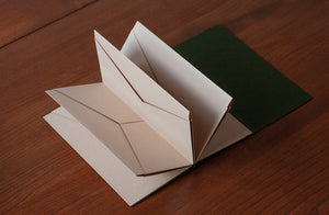 Origami Holder - Olive Green | Paper & Cards Studio