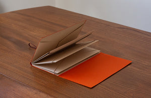 Origami Holder - Vermilion Orange | Paper & Cards Studio