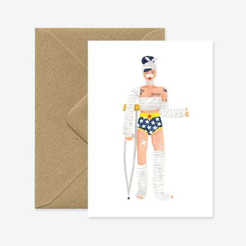 Super Girl - Recovery | Paper & Cards Studio