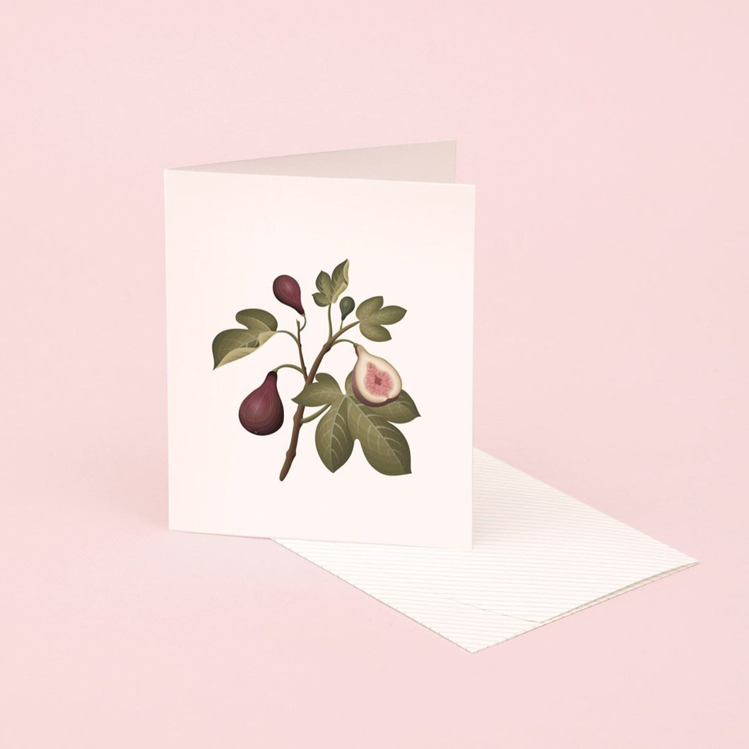 Botanical Scented Card - Fig | Paper & Cards Studio