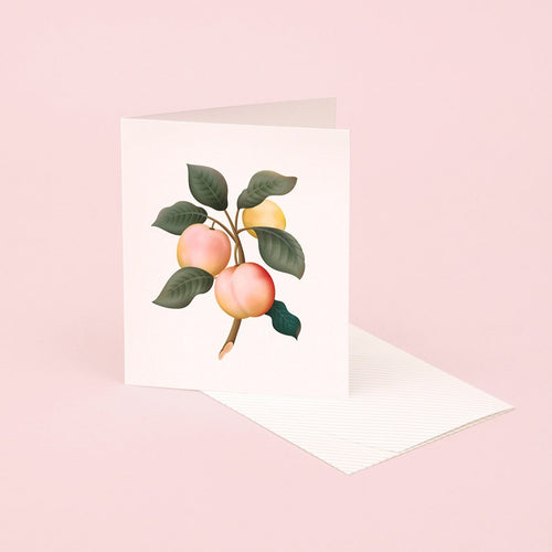 Botanical Scented Card - Plum | Paper & Cards Studio